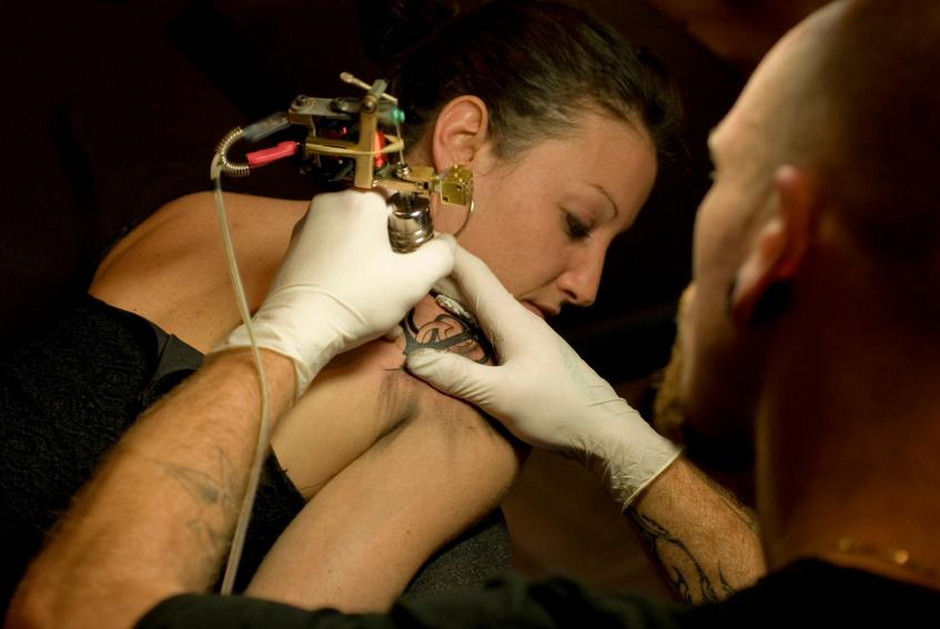 Mangelhaftes Tattoo