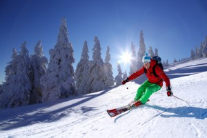 Skiunfall auf Tagung